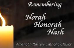 Funeral - Nora Nash